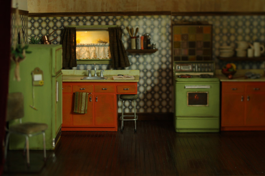 70s kitchen spookiness stephanie dudley for Kitchen design 70s